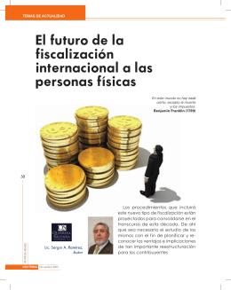 El futuro de la fiscalización internacional a las personas