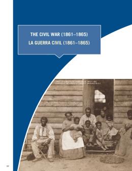 (1861–1865) la Guerra Civil