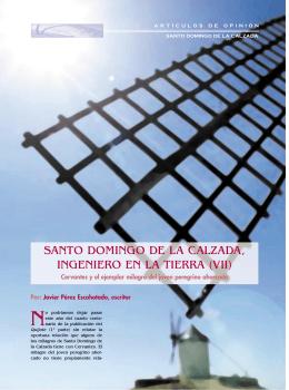 SANTO DOMINGO DE LA CALZADA, INGENIERO EN LA TIERRA (VII)