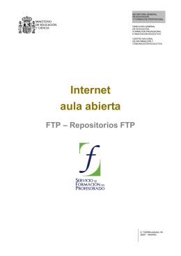 Repositorios FTP