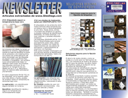 Steeltags Newsletter relounge spa.indd