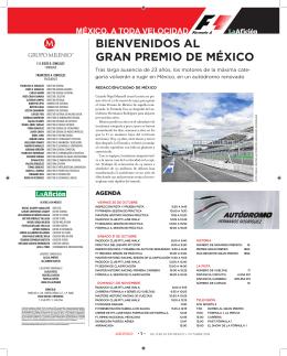 BIENVENIDOS AL GRAN PREMIO DE MÉXICO - La Afición