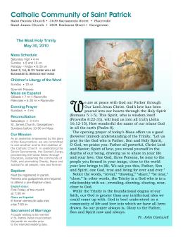 Catholic Community of Saint Patrick