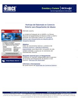 IBCEm@il - Servicio Especializado de Información