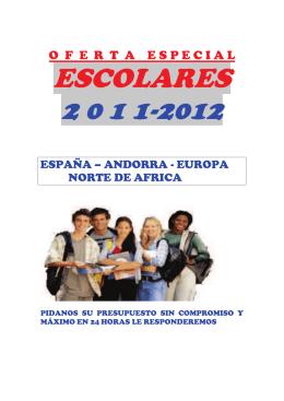 ESCOLARES 2 0 1 1-2012