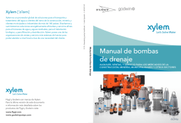Manual de bombas de drenaje