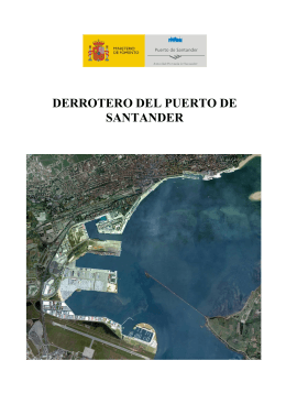 DERROTERO DEL PUERTO DE SANTANDER