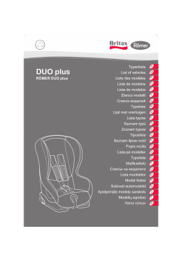 DE DUO plus - SillaCocheBebe