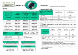 PRECIOS 2015 - Institut Linguistique de Montpellier