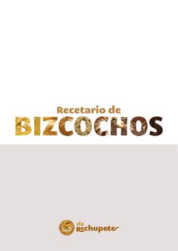 Recetario de Bizcochos