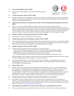 fianl spanish FAQs