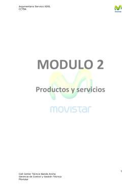 Productos y Servicios Movistar