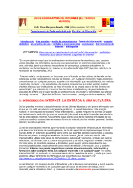 usos educativos de internet - CEP de Alcalá de Guadaíra