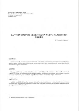 """""""trinidad"""" de lekeitio - Bizkaiko Foru Aldundia"""