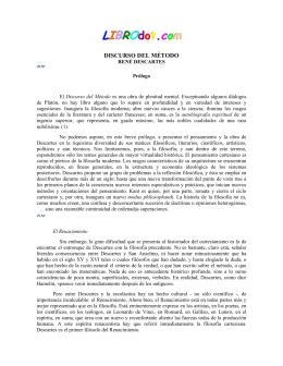 Discurso del Método - DSpace Biblioteca Universidad de Talca