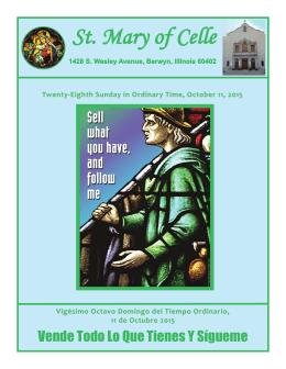 Layout 3 - Saint Mary of Celle Parish