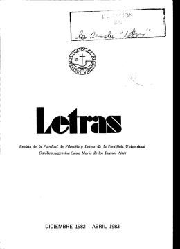 Letras N° 6-7 (número completo) - Biblioteca Digital