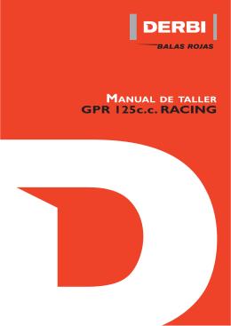 Manual de taller de la motocicleta