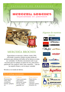 Catalogo 2 - Merceria Broches