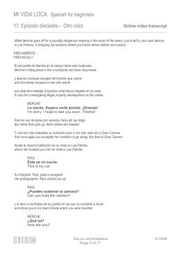 Print transcript