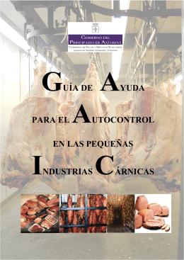 guía de ayuda para el autocontrol en las pequeñas industrias cárnicas