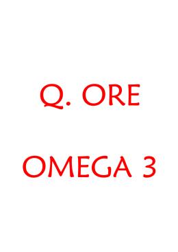 Q. Ore Omega 3 (Descarga Archivo PDF)