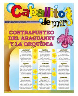 CONTRAPUNTEO DEL ARAGUANEY Y LA ORQUÍDEA