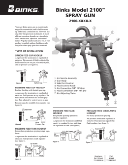 Binks Model 2100™ Spray Gun