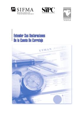 Entender Sus Declaraciones De la Cuenta De Corretaje