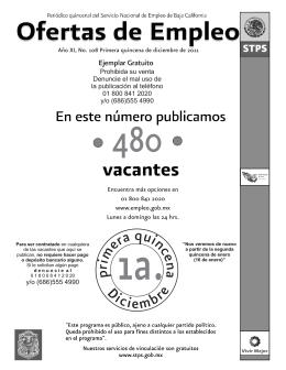 1 2 3 - Portal del Empleo