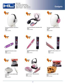 Gadgets - importadora y distribuidora hyl