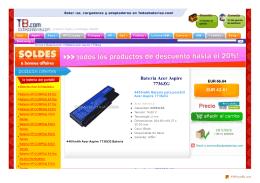 Baterías Acer Aspire 7736ZG,Adaptador/Cargador Acer Aspire