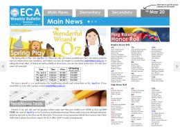 Main News - El Camino Academy