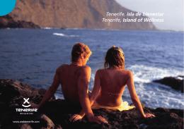 Tenerife, isla de bienestar Tenerife, Island of Wellness