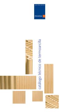 catálogo técnico de termoarcilla