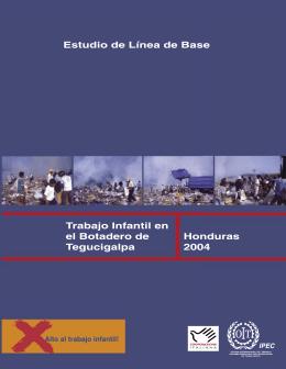 Trabajo Infantil en el Botadero de Tegucigalpa. 2004