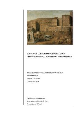 PALAZZO DEI NORMANNI in Spagnolo - Mupart