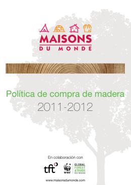 Política de compra de madera