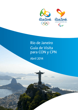 Río de Janeiro Guía de Visita para CON y CPN