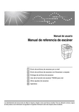 Manual de referencia de escáner