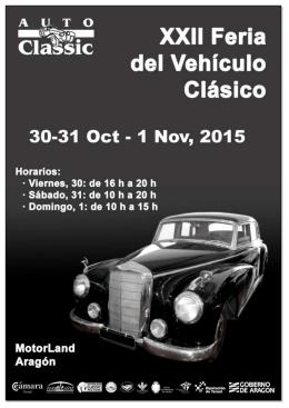 Dossier AutoClassic 201 - Institución Ferial de Alcañiz