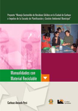 TRABAJOS PRCTICOS CON MATERIALES RECICLABLES