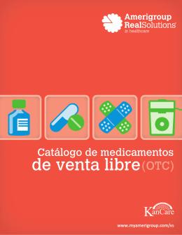 Catálogo de medicamentos de venta libre(OTC)