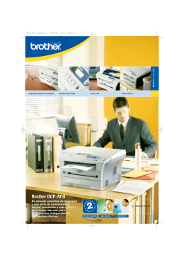 Brother DCP-7010 Brother DCP-7010
