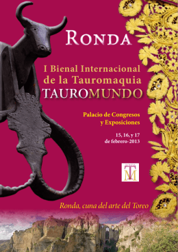 TAUROMUNDO TAUROMUNDO I Bienal