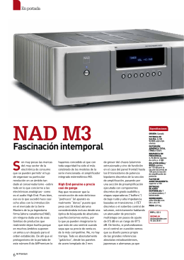 NAD M3 - DECINE AV - Audio Video