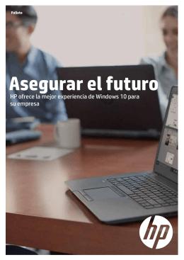 Asegurar el futuro