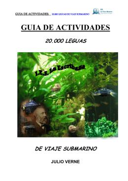 GUIA DE ACTIVIDADES DE 20000 LEGUAS
