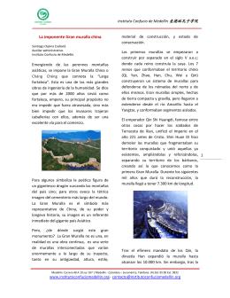 La imponente Gran muralla china