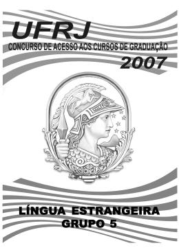 LÍNGUA ESTRANGEIRA GRUPO 5